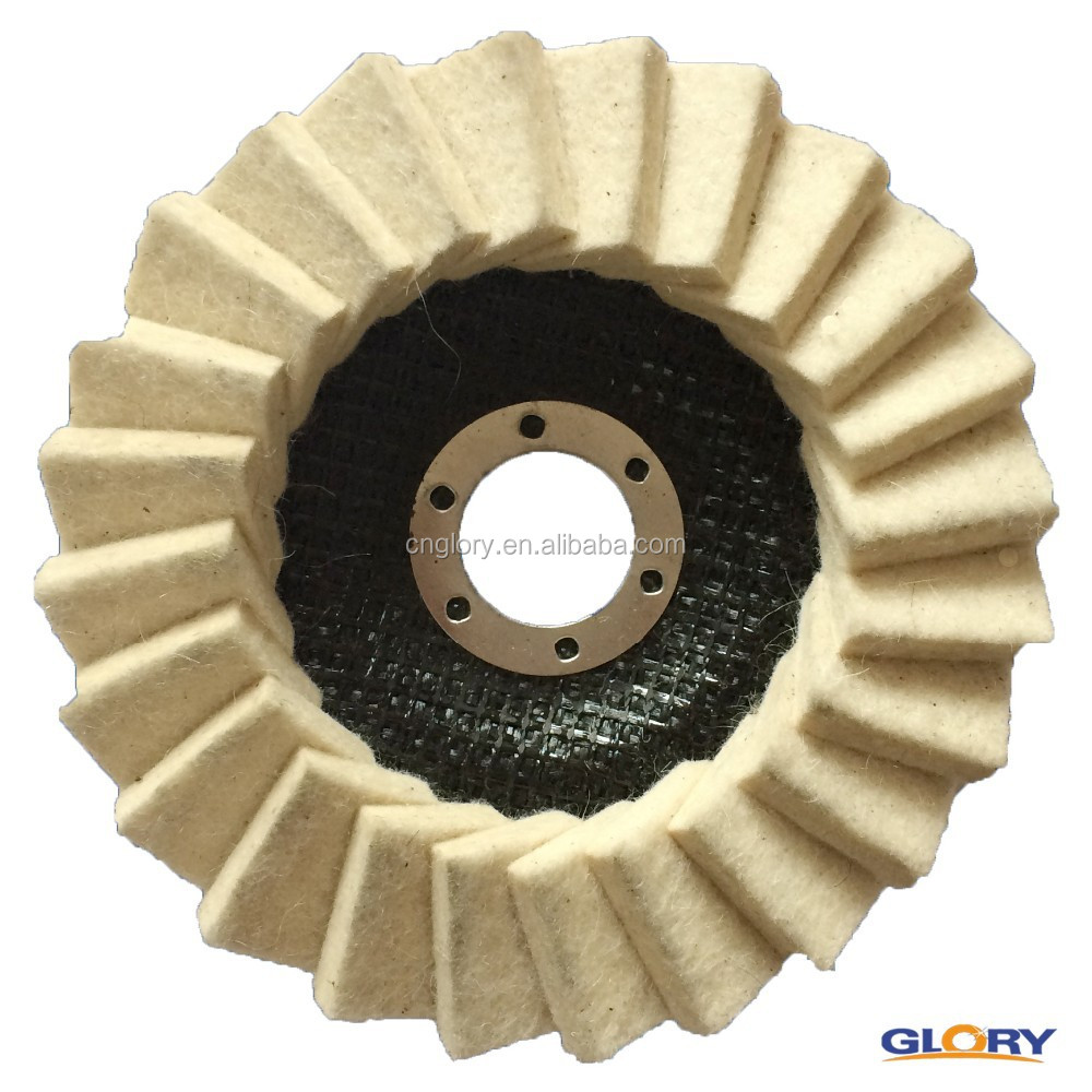 hardware importer polish abrasive tool fiberglass woolen flap disc for marble