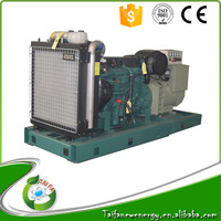 Volvo 300kw electric start diesel generator cheap price