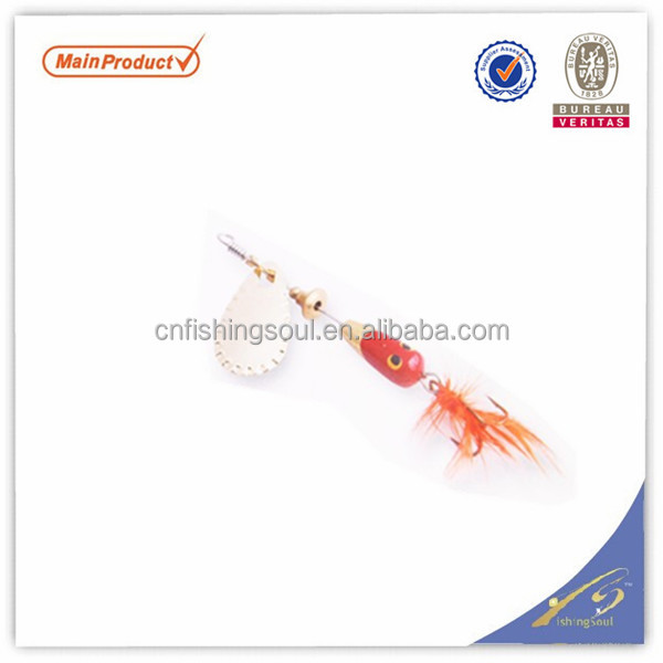 SPL017 cheap fishing lures making supplies fishing spinner bait