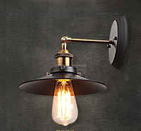 high quality factory price vintage wall lamp for edison bulbs