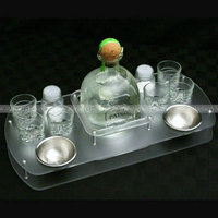 Acrylic Buffet party dishes Display Holder, Acrylic Buffet Drink Rack, Perspex Buffet Condiment Display Stands