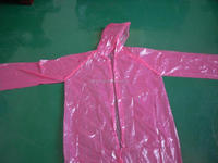 transparent customized The long reflective raincoats for sale