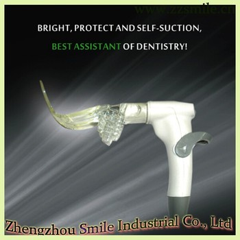 CE Approved Oral Suction iLight Shining Self-suction/Dental Suction with Light