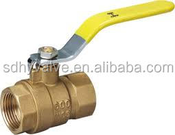 1/4 ,3/8 , 1/2 npt pneumatic cheap small mini brass ball valve for water air oil and gas brass ball valve factory in China