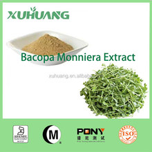2016 Kosher Certificate Factory Directly Supply Natural Bacopa Monniera Extract 55% Bacopaside