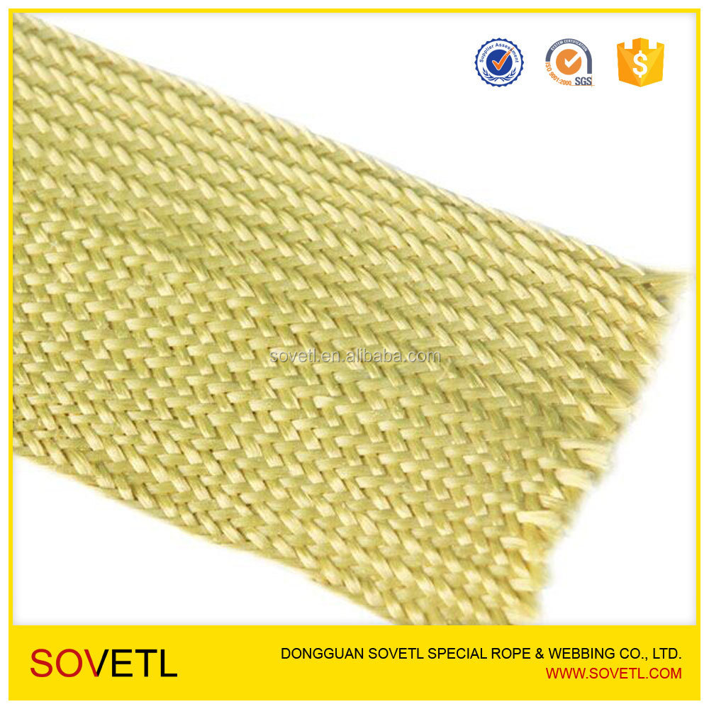 Kevlar Sleeves for Glass Bent Tempering Furnace