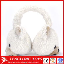 winter ear warmer plush animal bear earmuffs