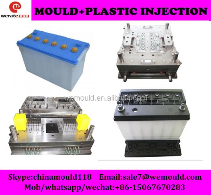 plastic injection car battery cover mould