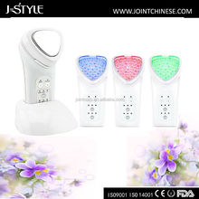 Newly changeable Treatment 3-in-1 Home use Facial Massage Machine