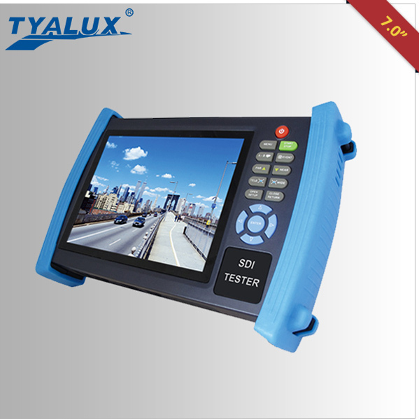 High Precision Full HD cctv Camera 7 inch CCTV HD-SDI Tester