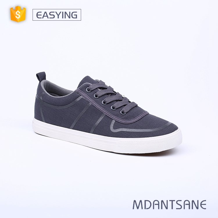 Chinese manufacture durable casual vulcanized canvas shoes men