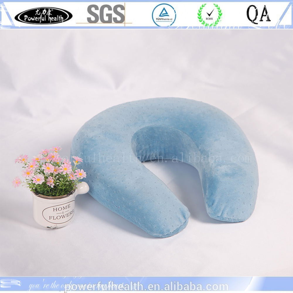 Premium Travel Pillow, SLEEP WITH NO NECK PAIN, Super Soft Memory Foam Neck Pillow EASY WASHING with removable cover