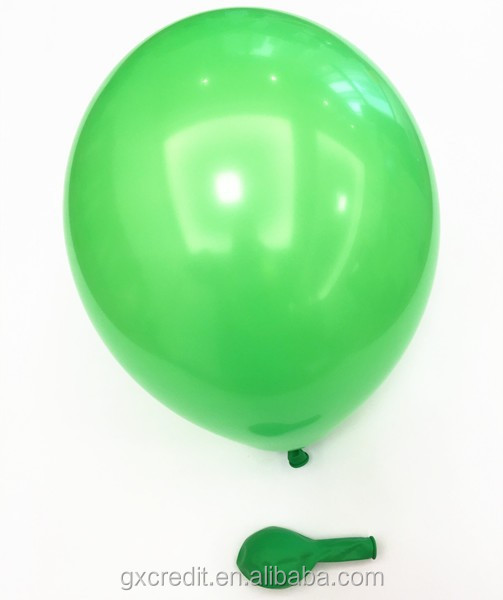 12 inch colour round shaped metallic latex balloon for sale