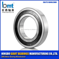 High Performance deep groove ball bearings /Rubber sealed bearing 16020 2RS