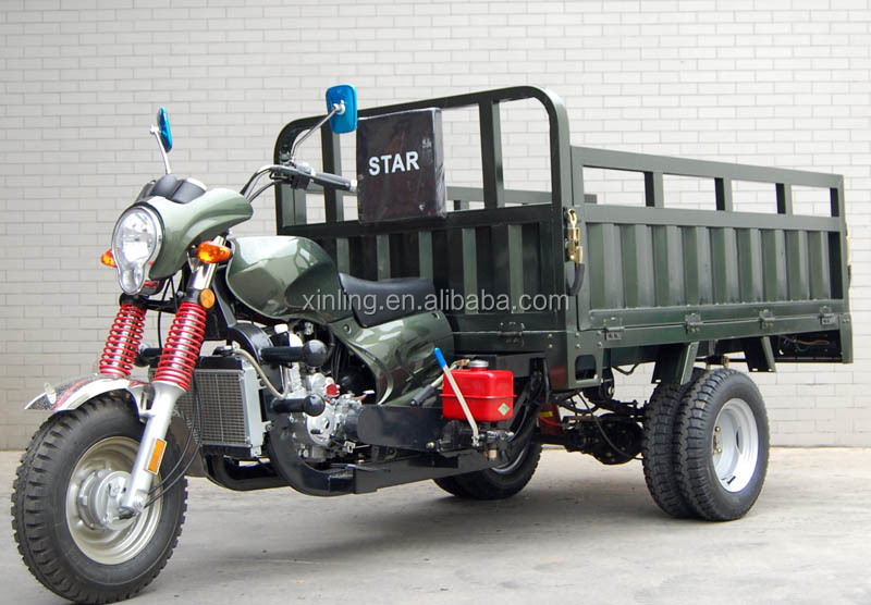(HR) 250cc Heavy load power Cargo motorcycle tricycle/three wheel motorcycle tricycle adult tricycle EEC