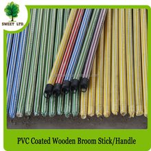 Hot sale PVC cover broom handles wholesale in Broom & Dustpan