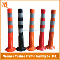 2016 hot products flexible spring warning post products exported from china
