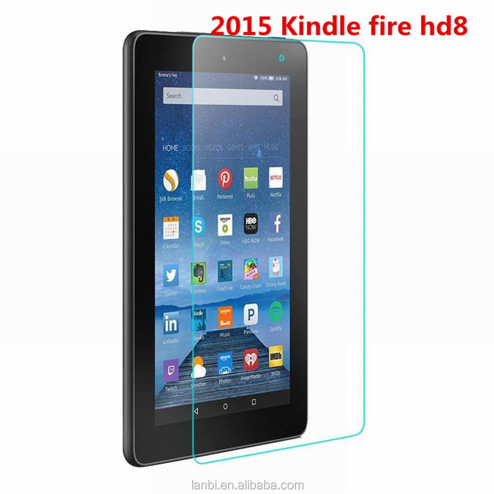explosion proof tablets pc tempered Glass screen protector for Amazon Kindle Fire 2015 HD 8 inch tablet glass screen protector