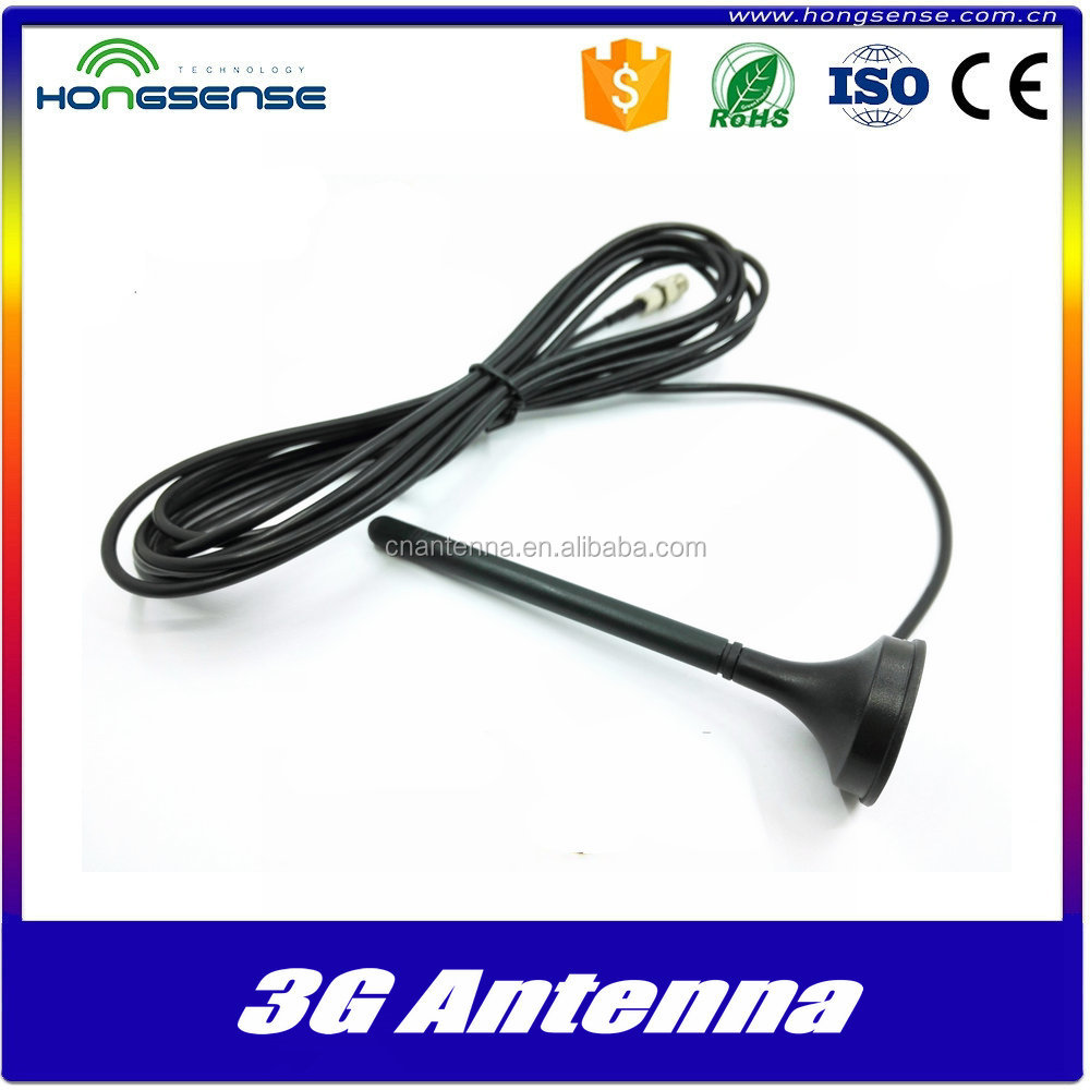 3DBi 3G mobile antenna CRC9 connector GSM/UMTS antenna For Huawei USB modem