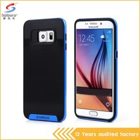Newest popular soft TPU+PC phone case for samsung with China Supplier