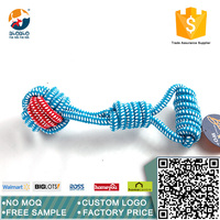 Factory price wholesale new design cotton rope pet toy for dog training