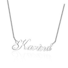 925 Sterling Silver Personalized Custom Name Necklace