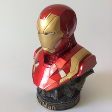 American Superhero Movies Ironman Resin Figure Bust Statue Collectibles/Decoration For Gift