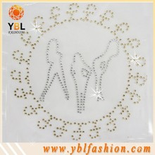 Flatback Glass Rhinestone for Jeans Pockets Made in China