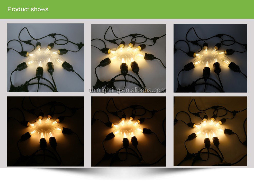 Hot sales high lumen promotion waterproof Christmas decoration led string light