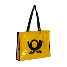 high quality yellow market pp non woven shopping bag with strong handle