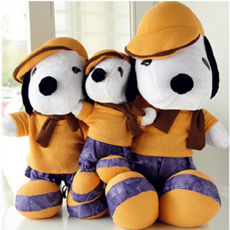 The latest product big eyes plush farm animal dog stuffed toy