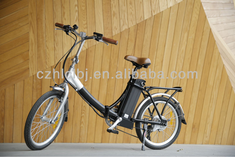 lightweight kids 6 speed folding e-bike