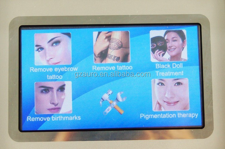 Au-S545 Trending Hot OPT E-light RF ND Yag Laser Tattoo Removal