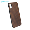 Best quality smartphone wooden case for iphone X case cover