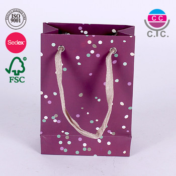 New Luxury Shopping Paper Bag for Cloth