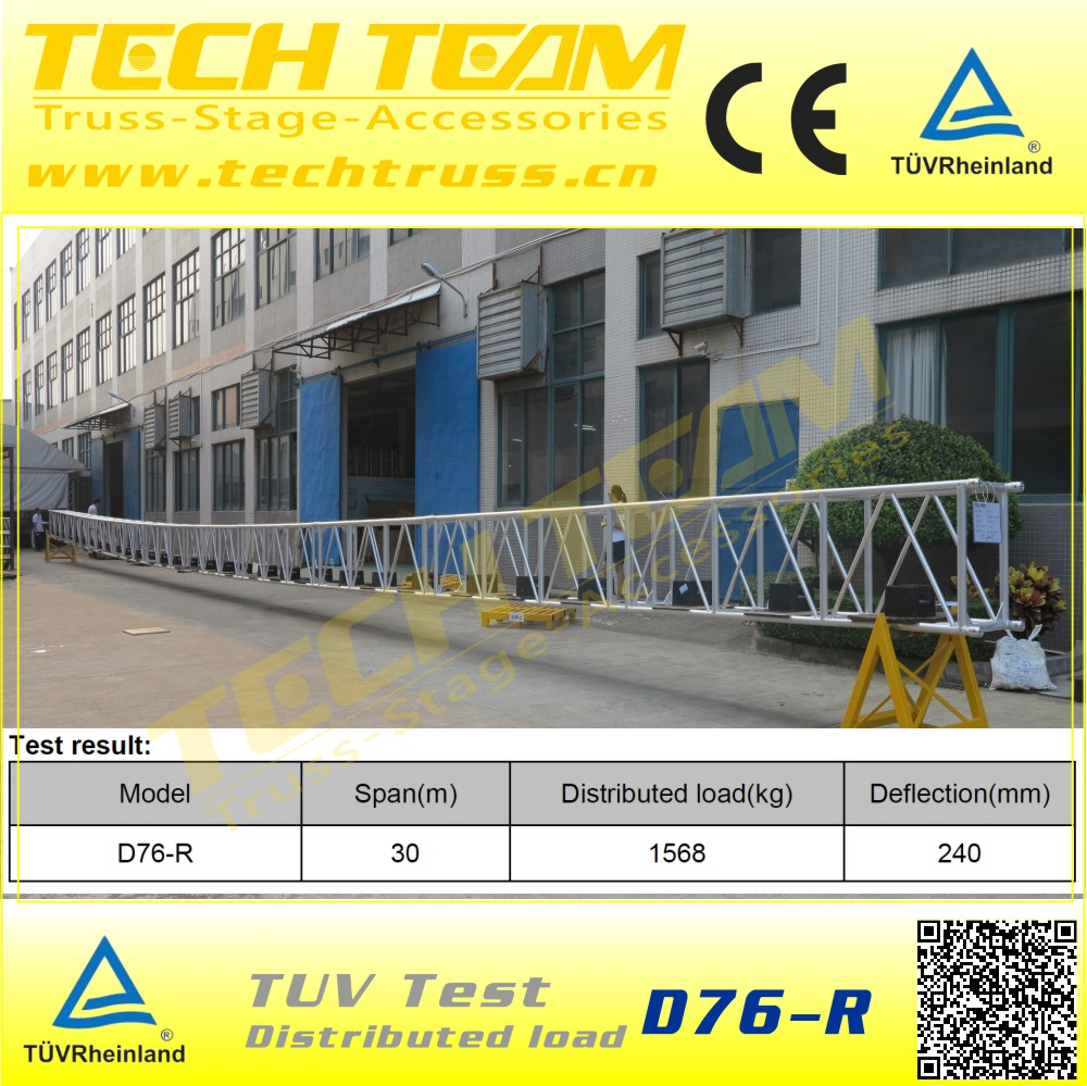 2017 High Quality Aluminum Truss Roof System Cheap Price