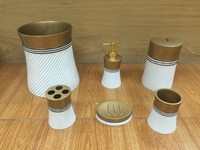 Gold Bathroom Accessories Set Home Accessories