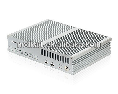 Fanless BOX PC,intel atom N2600 CPU,2G Memory,6*USB,4*RS232/RS485,2*RJ45