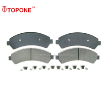D726 GDB4111Auto parts Systems 23663 For CHEVROLET For ISUZU Semi metallic Car Brake Pad