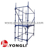 African Steel Access Selflock Quick Strip scaffolding for Construction