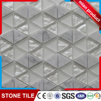 Vidrepur glass mix stone mosaic tile for kitchen backsplash