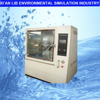 ipx rain/water spray test chamber
