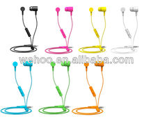best quality fashion colorful headphone mobile phone earphone