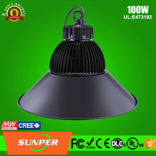 Energy Star,CE,RoHS,LVD,EMC,UL,FCC Certification and LED Light Source 100watt ul listed led high bay 100w