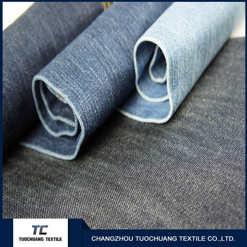 cotton elastic spandex jeans denim fabric and t-shirt stock in