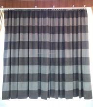 Hotel Blackout Curtains with blakcout lining and Sheer Fire retartance made to measure