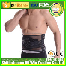 Orthopedic Lumbar Support With Enhanced Aluminum Stays