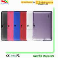 Best Selling Factory Wholesale Cheapest 7 inch 1024*600 Two Camera 8GB Android 4.4 Quad Core Tablet PC