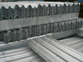 600gram hot dip galvanized steel corrugated crash guardrail