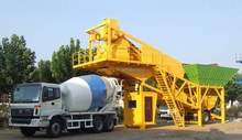 CE certification HZS25 25m3 mobile mini small concrete batching plant price for sale